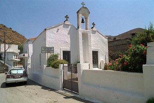 Die byzantinische Kirche Agii Georgios und Konstantinos, Pirgos