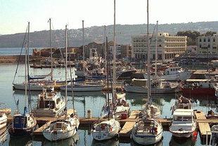 Die Marina von Chania