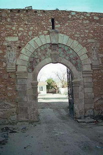 A Fortezza style portal of the Primary School, Rethimnon