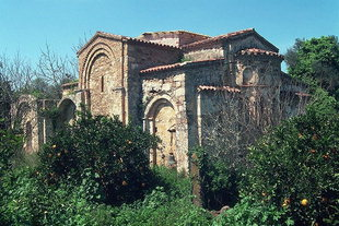 Ai Yannis Kyr-Yannis Church in the orange groves of Alikianos, Kydonia