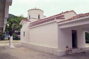 Die byzantinische Kirche Panagia Kardiotissa, Miriokefala