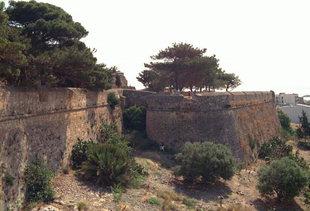 Die Agios Nikolaos-Bastion, Rethimnon