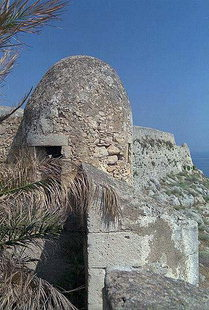 A circular sentry-box in the Fortezza, Rethimnon
