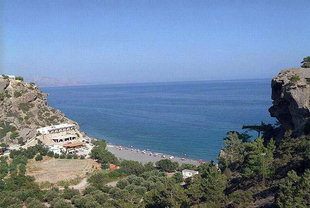 Agia Fotia beach, east of Ierapetra