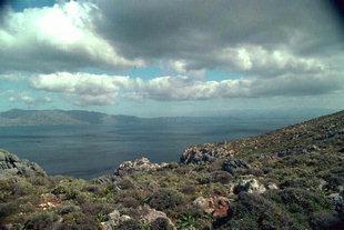 Ο Κόλπος του Καστελίου και η Χερσόνησος της Γραμβούσας