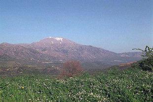 Der Berg Psiloritis und das Amari-Tal