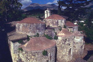 The Byzantine church of Agios Fanourios in Kitharida