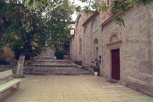The Byzantine church of Agios Miron, Agios Miron