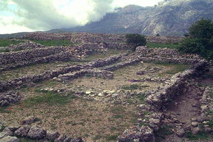Ruins at the site of Rizinia