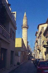 Das Ahmet Aga-Minarett in Chania