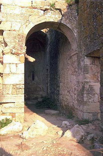 The ruins of Sotiras Christos Church in Mikri Episkopi