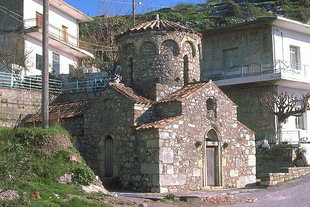 Agia Irini Church in Axos