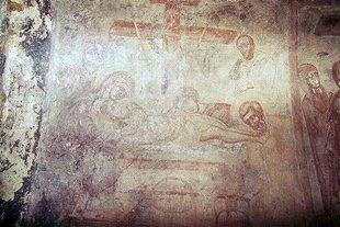 Une fresque du XIV siècle dans l'église d'Agios Antonios, Avdou
