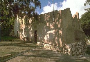 Agios Ioannis, die dreischiffige Kirche aus der zweiten byzantinischen Zeit, Kroustas
