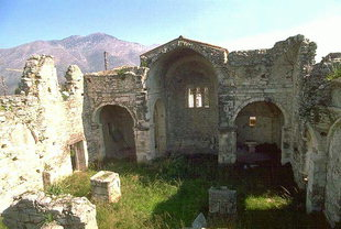 Agios Ioannis Church in Episkopi, Milopotamos