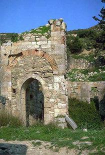 The ruins of Sotiras Christos Church, Mikri Episkopi