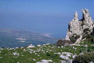 The Eteocretan settlement of Karfi, above the Lassithi Plateau