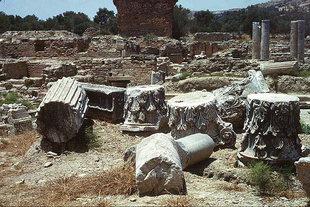 The Praetorium or palace of the Roman governor, Gortyn
