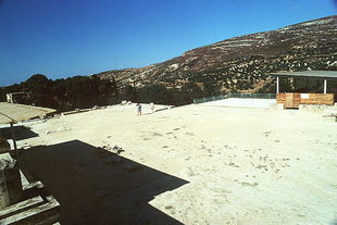 The Central Court area, Knossos