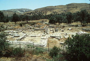 The site of the temple, Gortyn