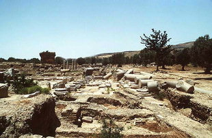 Das Praetorium oder Palast des römischen Statthalters, Gortyn
