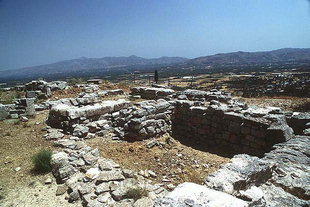 Der Altar auf der Akropolis, Gortyn