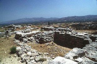 The altar on the Acropolis, Gortyn