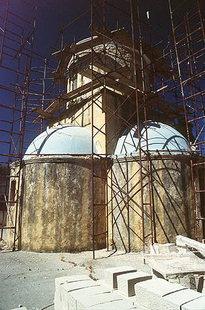 Das Agios Eleftherios-Kloster, Mournies