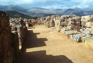 Couloir de sud à nord, Malia