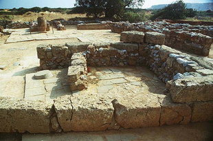 Buildings in the North Court, Malia