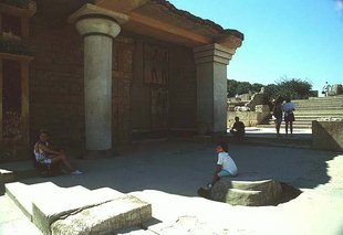 Die südliche Propylaea, Knossos