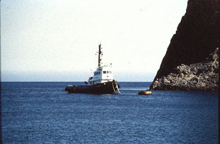 The Kali Limenes anchorage