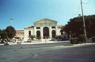 The Public Market (Agora) of Chania