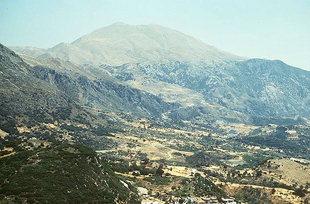 La Vallée d'Amari et le Mont Psiloritis