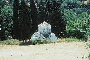 L'église d'Agia Paraskevi près d'Assomaton, Amari