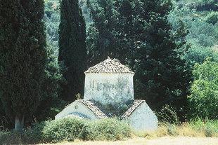 Agia Paraskevi Church near Moni Assomaton, Amari
