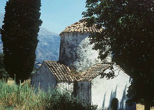 Die Agia Paraskevi-Kirche bei Assomaton, Amari