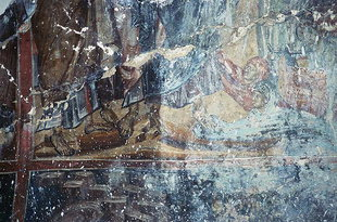 A fresco in Agios Theodoros Church in Amari