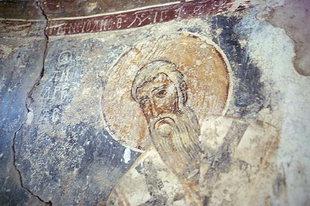 Μια πρώιμη τοιχογραφία από την Αγία Άννα στο Αμάρι