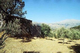 Die Agia Anna-Kirche in Amari