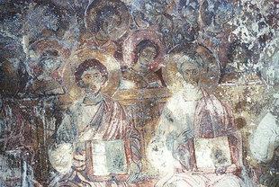 Un affresco della chiesa di Sotiras Christòs, Mesklà