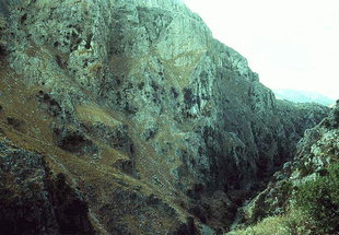 The Topolia Gorge