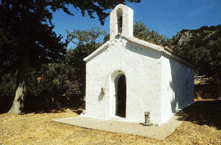 Die Panagia-Kirche in Kadros