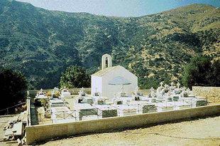 The Byzantine church of Sotiras Christos, Vlithias