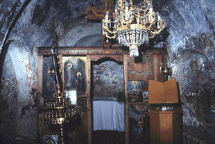 L'église Byzantine de Sotiras Christos, Vlithias
