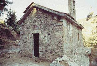Η Βυζαντινή εκκλησία της Αγίας Παρασκευής στο Χόντρο