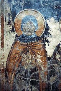Fresko in der Agia Paraskevi-Kirche, Hondros