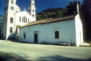 Die byzantinische Panagia-Kirche, Meskla