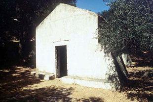 La chiesa bizantina di Panagìa, Sklavopoula