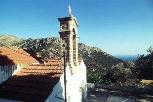 Die byzantinische Agios Georgios-Kirche, Anidri